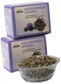 Добавка биологически активная к пище «Расторопши плоды, сырьё цельное»  100 грамм.
